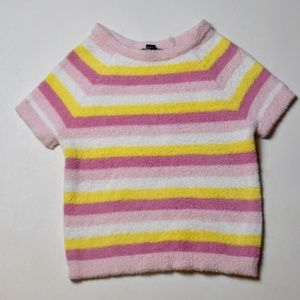 Fuzzy Forever 21 Striped Shirt